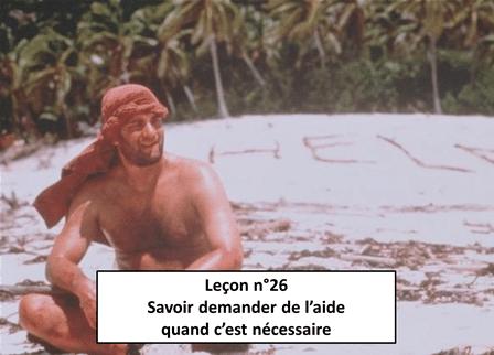 Leçon n°26 Savoir demander de l'aide quand c'est nécessaire