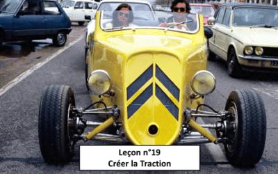 Leçon n°19 Créer la traction