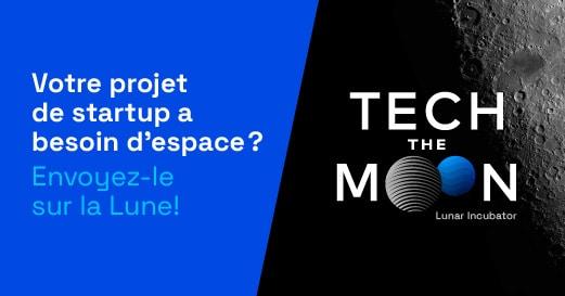 « TECHTHEMOON », le Premier incubateur dédié à l'économie lunaire  by CNES & Nubbo